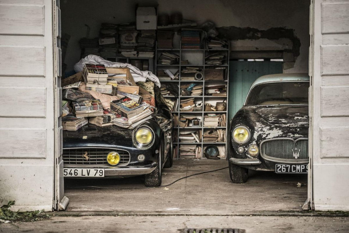 over  automotive treasures rediscovered in epic barn find roger baillon collection h