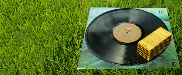 The Rokblok portable record player drives around your vinyl like an RC car
