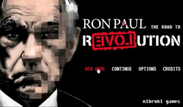 ron paul video game