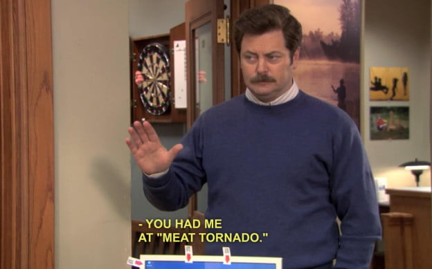 Netflix Captions Parks & Recreation
