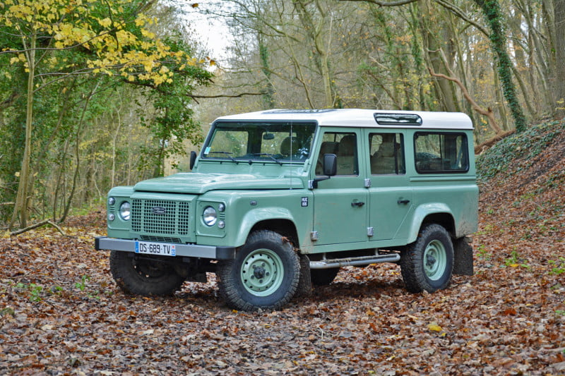 Image Gallery Old Land Rover