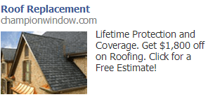 fb roof ad