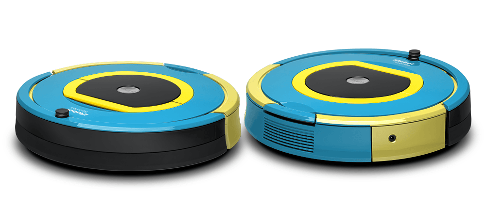 dj roomba gets disco fever with colorware customizations