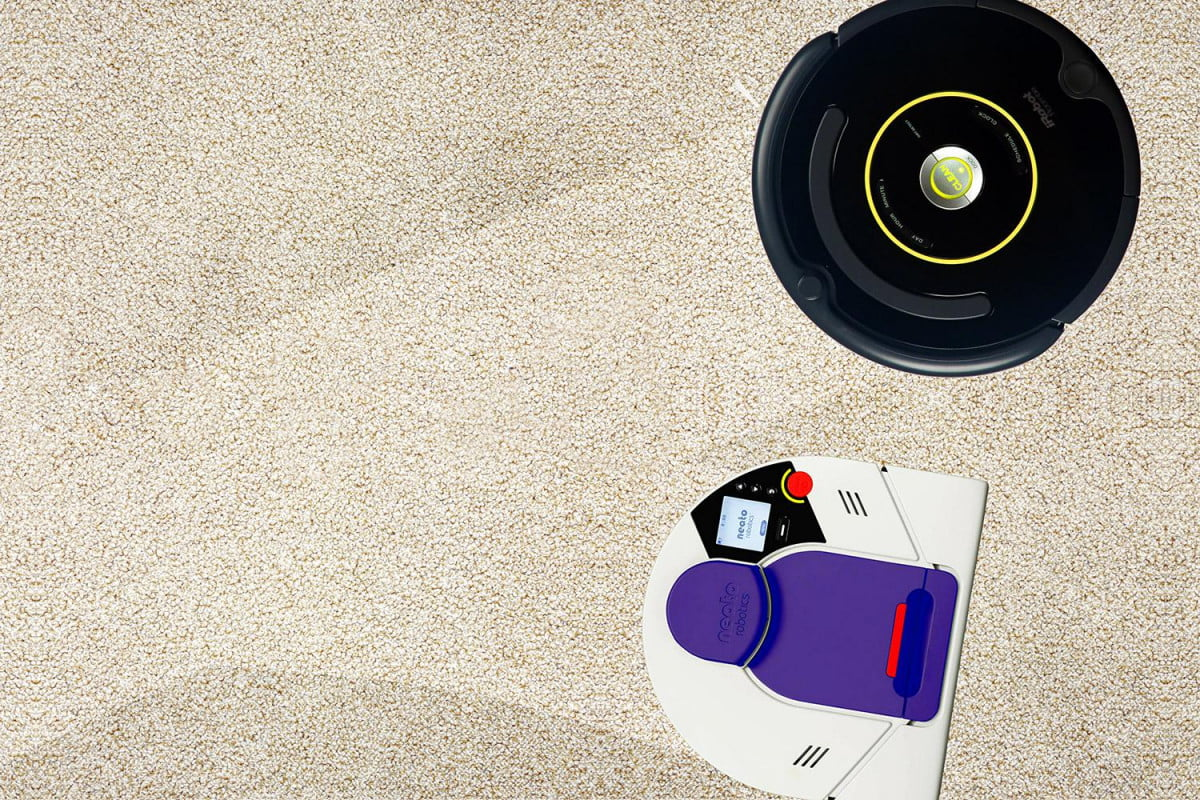 roomba vs neato robots battle to clean my home roombo robot vacuum wars