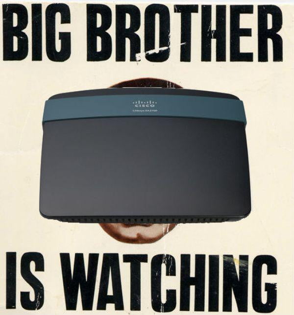 your router is watching you
