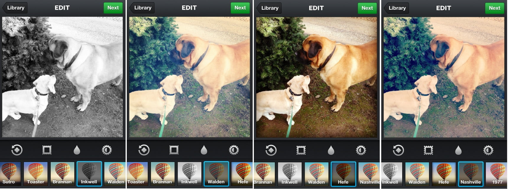 photoshop how to get black white instagram filter
