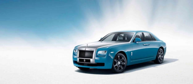 Rolls-Royce Ghost Alpine Centenary Collection