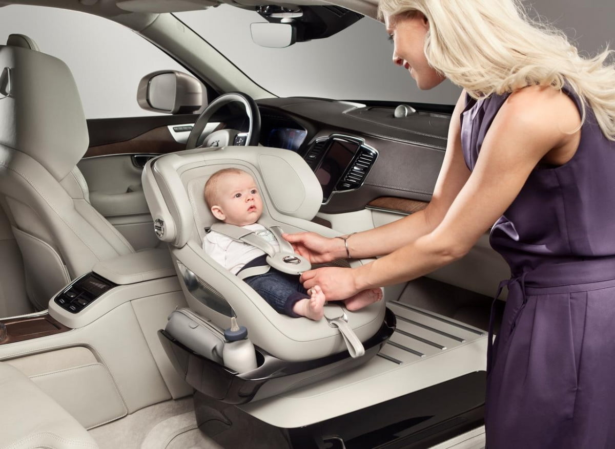volvo excellence child seat concept pictures news