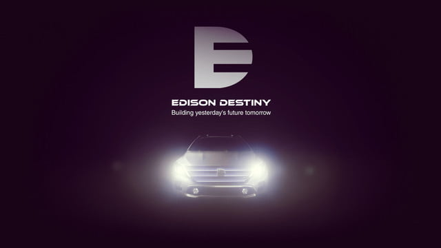 edison destiny electric car concept