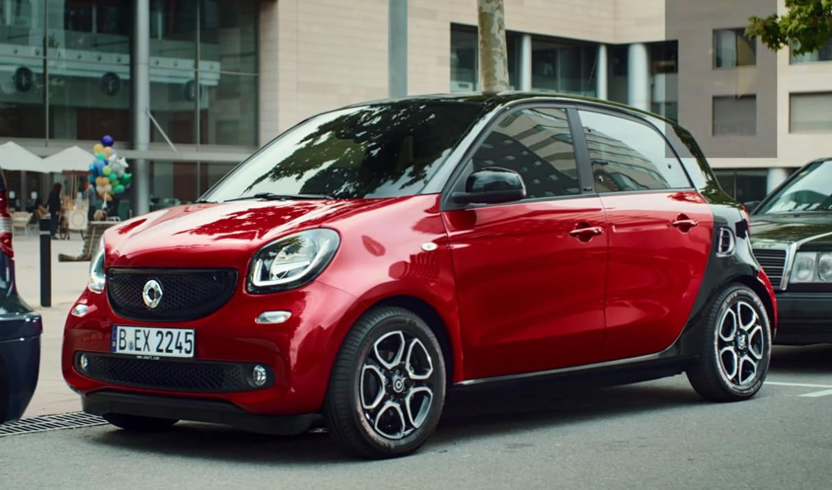 smart forfour swearing kids ad pictures video nsfw