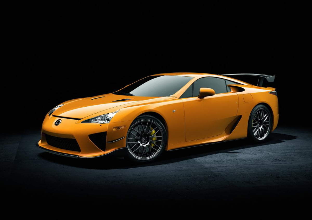 lexus will use bmw i  hybrid technology new lfa rsz nurburgring edition