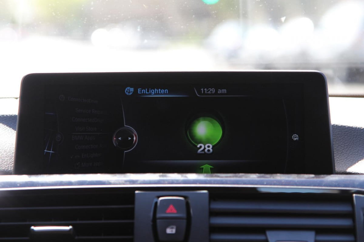 bmw enlighten traffic signal timing app pictures news