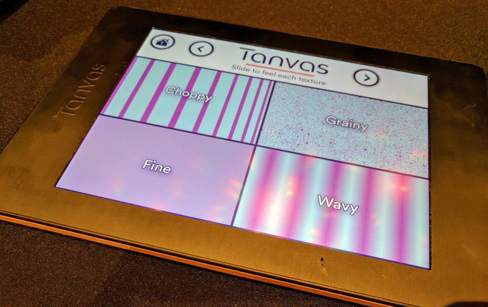 TanvasTouch Adds Tactility to Virtually any Touchscreen Device