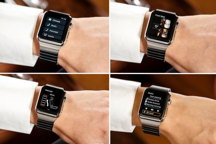 Bentley Apple Watch app