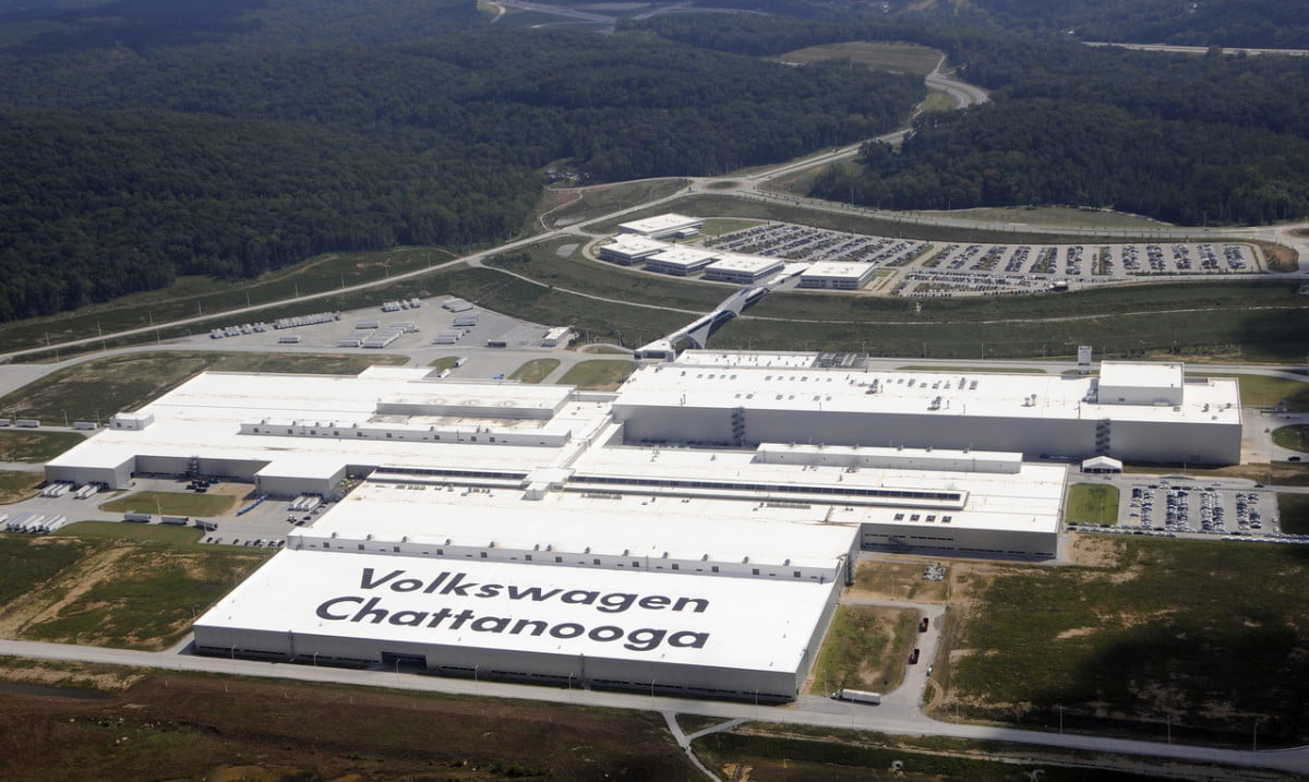 volkswagen recalls nearly  vehicles plant