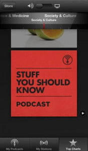rumor roundup apple ios 7 podcasts app screenshot
