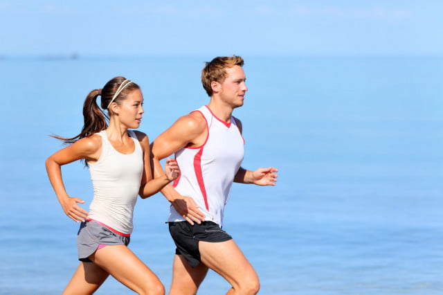 motion powered battery running exercise workout