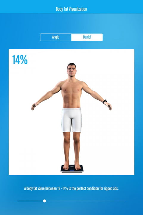 runtastic six pack  promises get abs even ier ss body fat