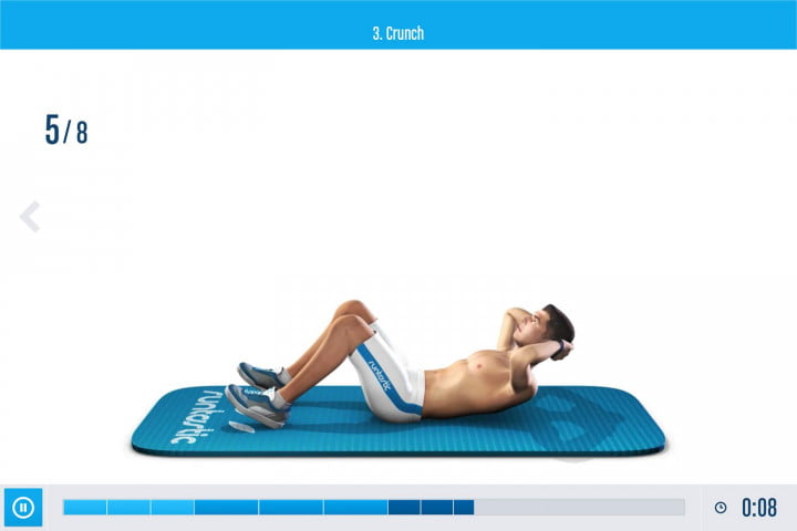 runtastic six pack  promises get abs even ier ss crunch