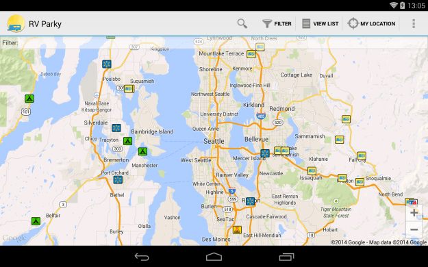 RV_Parky_Android_tablet_app_screenshot