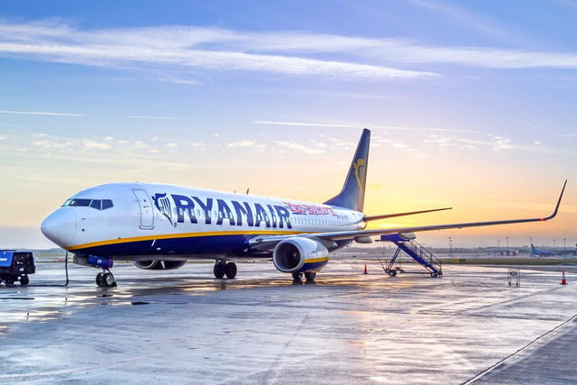 europes largest low cost airline trial flight entertainment wi fi ryanair
