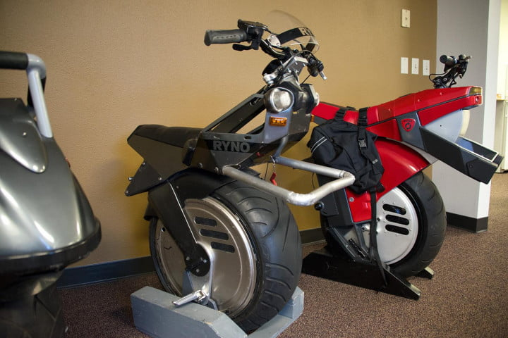 test riding the ryno self balancing one wheeled electric motorcycle motors lineup