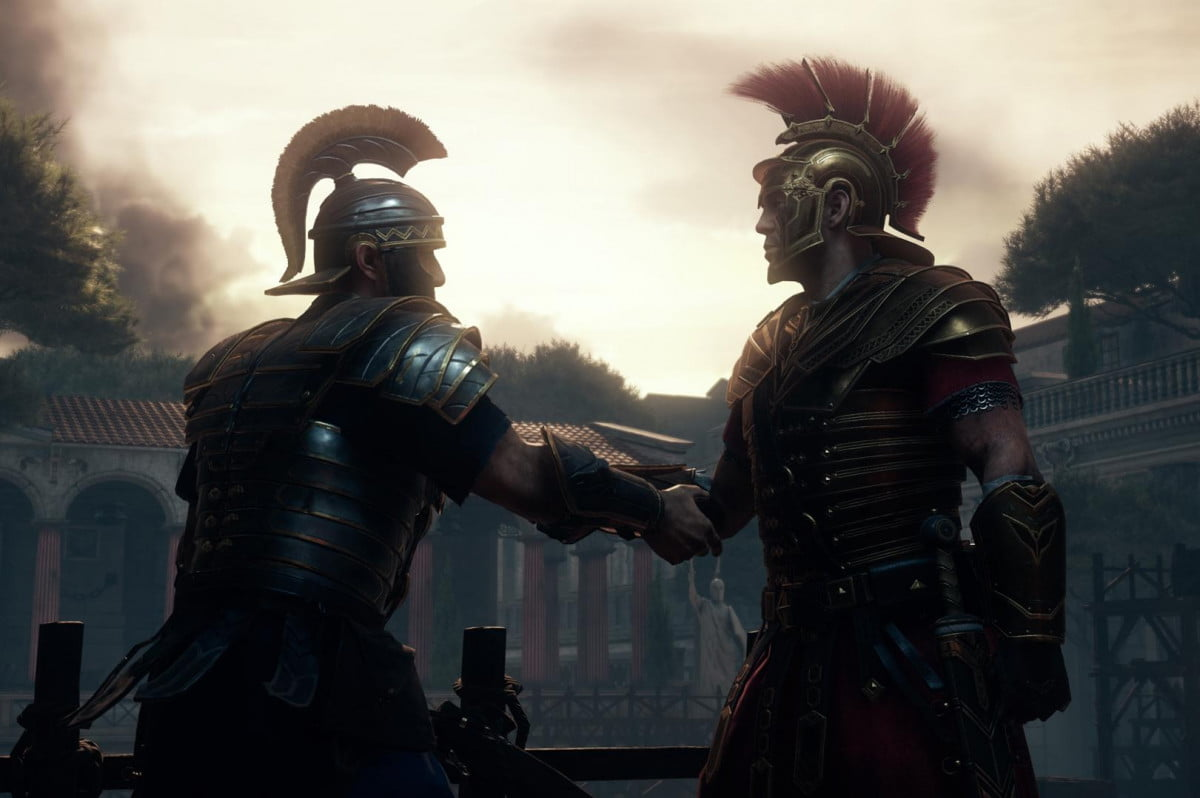 ryse son rome coming pc fall manshake