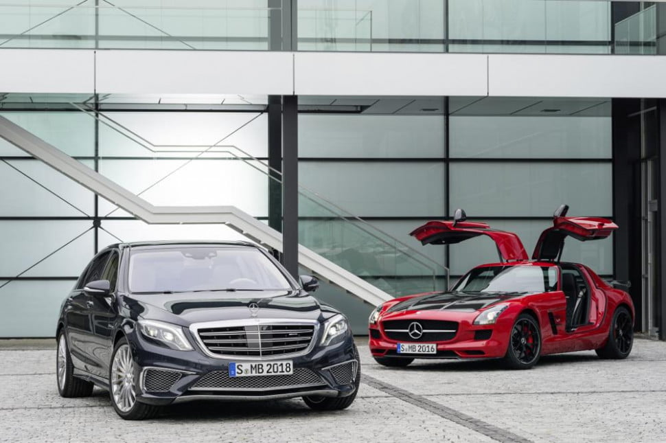 Mercedes-Benz S65 AMG and SLS AMG GT Final Edition