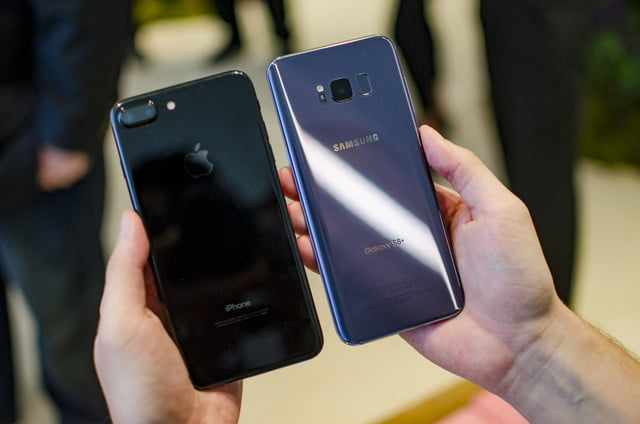 samsung galaxy s  plus vs iphone comparisons
