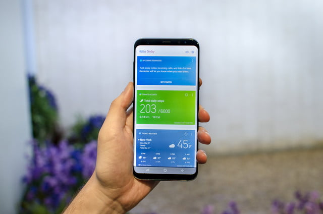 fans get bixby running on galaxy s  plus