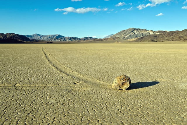 time lapse video solves mystery death valleys sailing stones