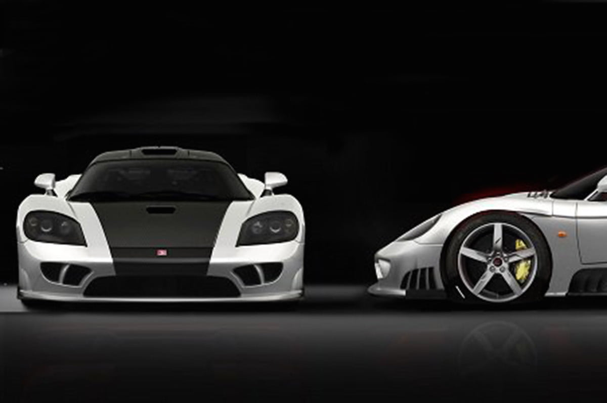 saleen s  lm supercar horsepower