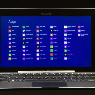 samsung smart ativ pc display apps full