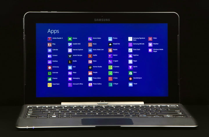 samsung ativ smart pc  t review display apps full