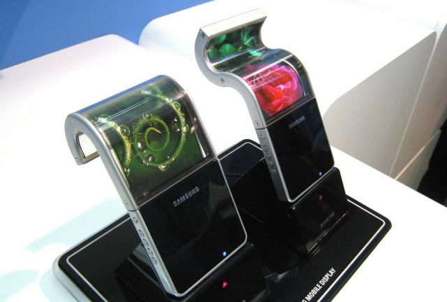 samsung patent flexible phone smartwatch screens