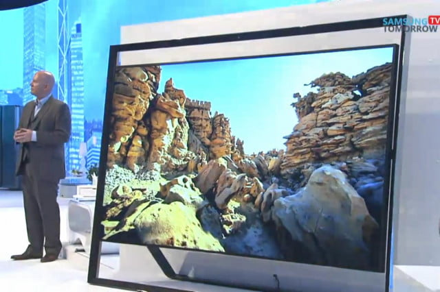 samsung shows off massive  inch ultra hd tv teases oled s scaled