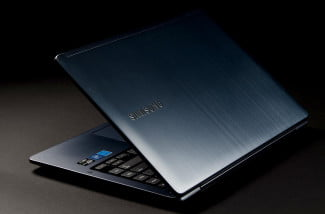 Samsung Ativ Book 5 review back angle