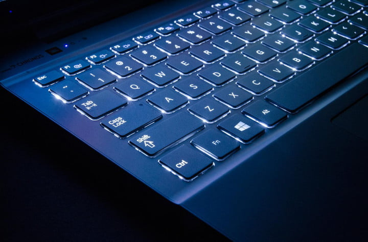 samsung ativ book  review chronos keyboard backlit