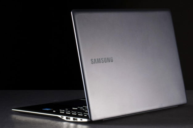 Samsung ATIV Book 9 back angle open