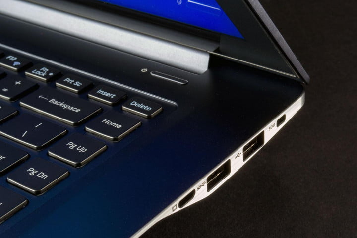 samsung ativ book  review right ports