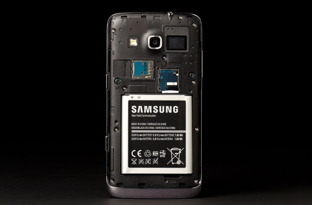 Samsung Ativ S Neo Phone back case off