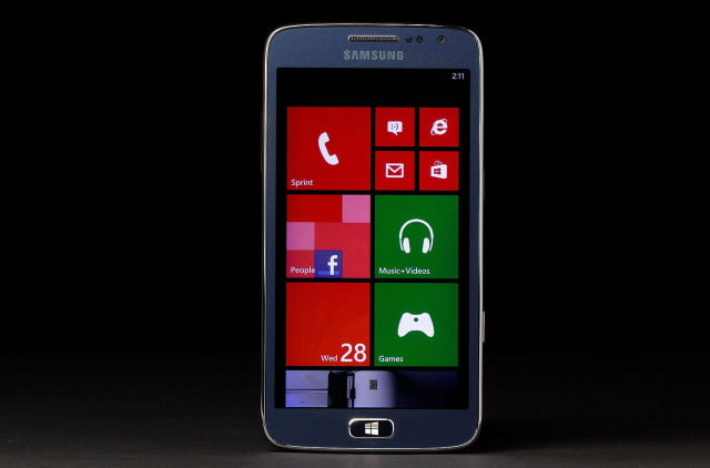 the sm w  v could be samsungs first p windows phone samsung ativ s neo front home