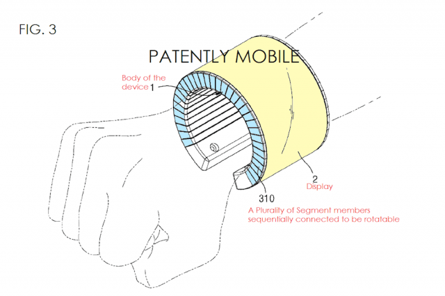 samsung bangle patent