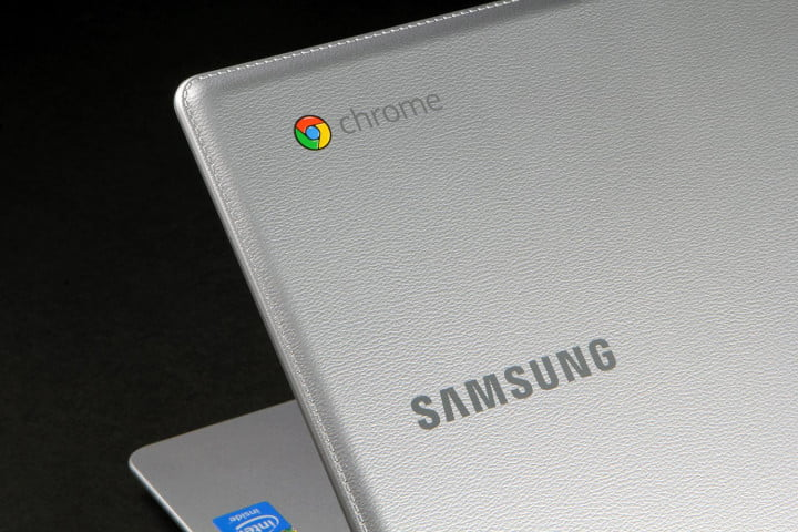 samsung chromebook  xe c k us review texture logo