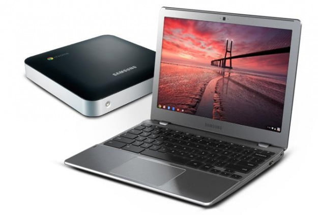 Samsung Series 5 550 Chromebook and Chromebox