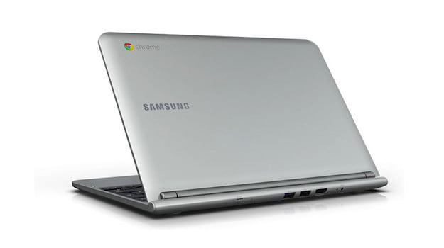 Samsung Chromebook Rear