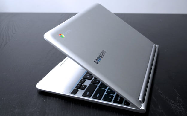 Samsung Chromebook series 3 review angle google chrome laptop