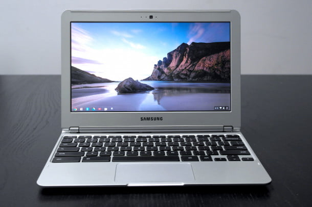 Samsung Chromebook series 3 review front google laptop