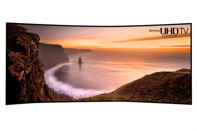 samsung answers back  inch curved k tv