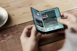 Samsung's Project Valley foldable phone